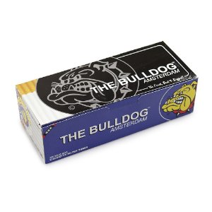 Tubo de Papel para Cigarros The Bulldog - Cx com 200