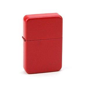 Isqueiro Star Vermelho - Liso Sem Estampa