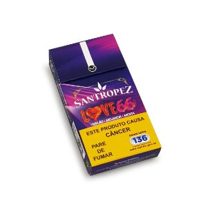 Cigarro de Palha Santropez Love 66 - Mç (20)