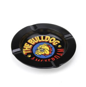 Cinzeiro De Alumínio Para Cigarro - The Bulldog Preto