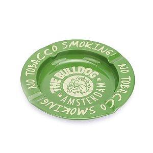 Cinzeiro De Alumínio Para Cigarro - The Bulldog Verde