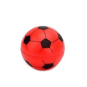 Dichavador de Plástico - Bola de Futebol Vermelha