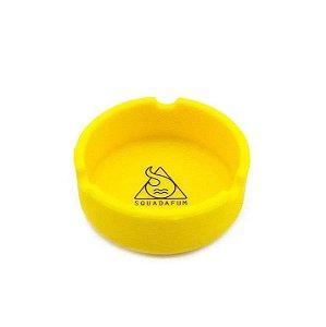 Cinzeiro de Silicone para Cigarro Squadafum - Amarelo