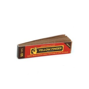 Piteira de Papel Yellow Finger - Brown (Un.)