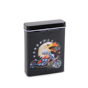 Cigarreira de Metal - Águia Mod. 02