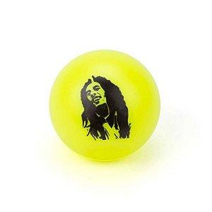 Dichavador de Plástico - Bob Marley Amarelo Fluorescente