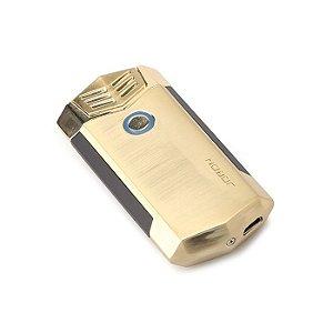 Isqueiro Eletrônico Jobon Plasma - Dourado