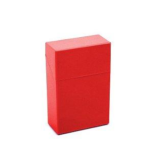 Cigarreira de Plástico - Vermelho