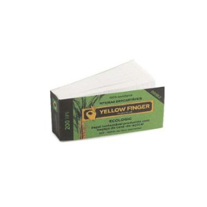 Piteira de Papel Yellow Finger - Ecologic Double (Un.)