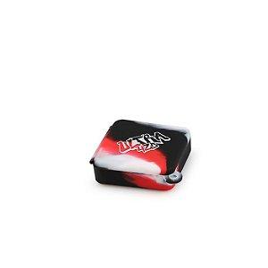 Container de Silicone Chaveiro Ultra 420 Quadrado - Mesclado (Sortido)