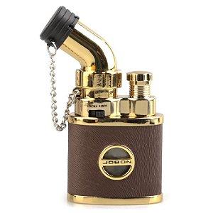 Isqueiro de Mesa Jobon - ZB-635 (1 Chama) - Dourado
