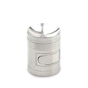 Dichavador de Metal (Compartimento) - Prata