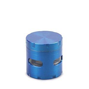 Dichavador de Metal Extra com Visor - Azul
