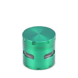 Dichavador de Metal Extra com Visor - Verde