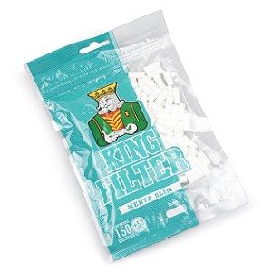 Filtro para Cigarro King Filter Menthol Slim de 6mm (Pacote com 200)