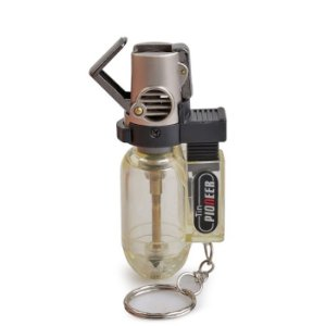 Isqueiro Maçarico Pioneer - Transparente (1 Chama)