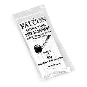 Limpador de Cachimbo de Algodão Falcon - Pacote com 50