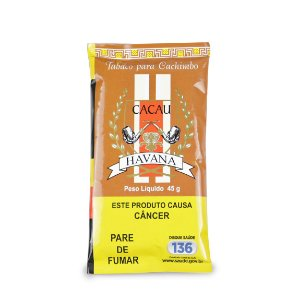 Fumo para Cachimbo Havana Cacau - Pct (45g)