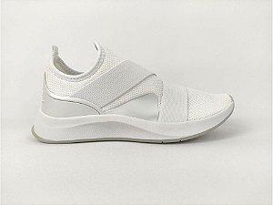 Tênis Casual Conforto sem Cadarço Branco