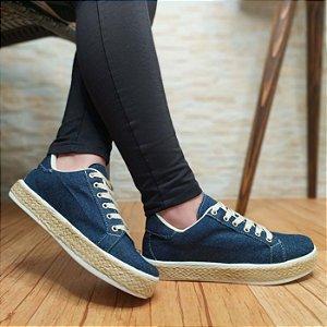 Tênis Jeans em Corda