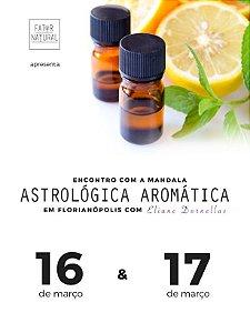 Encontro com a Mandala Astrológica Aromática em Florianópolis