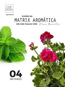 Curso da Matrix Aromática - São Paulo