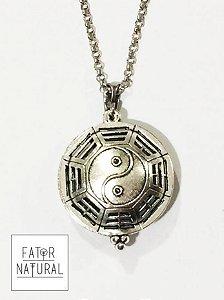 Medalhão Aromático Yin-Yang