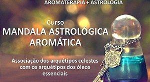 Curso online da Mandala Astrológica Aromática