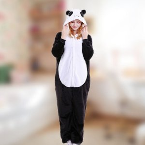 Pijama Macacão Kigurumi Panda