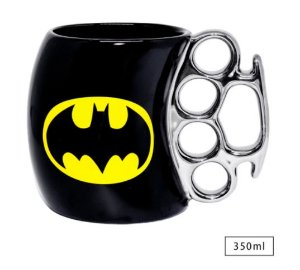Caneca Soco Ingles Batman DC Comics 320ml
