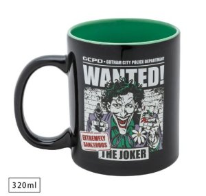 Caneca WB DC Joker Wanted DC Comics 320ml