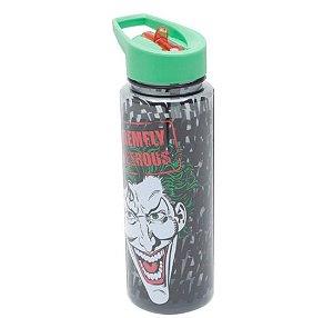 Garrafa Squeeze Joker Dangerous DC Comics Coringa 600ml
