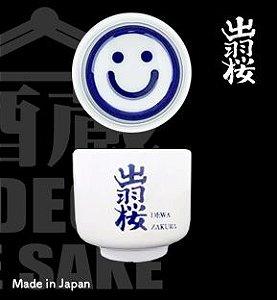 DEWAZAKURA KIKICHOKO FELIZ Copo de Degustação de Sake 50ml 1 Unidade