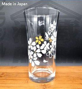 Copo que muda de corSAKURA GLASS Made in Japan 100ml