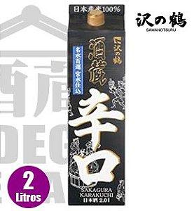Sake Sawanotsuru SAKAGURA Pack 2000ml