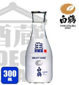 Sake Hakutsuru Junmai DRAFT 300ml