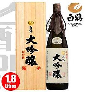 Sake HAKUTSURU Cho-Tokusen Daiguinjo 1800ml