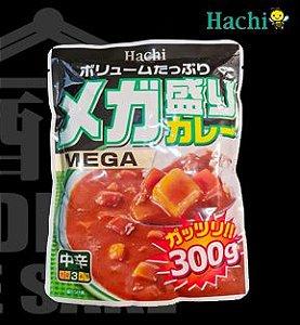 Curry MEGA MORI Instantâneo 300g - Médio