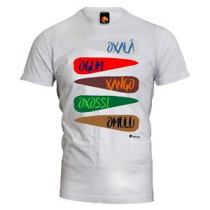 Camiseta Orixás Masculinos