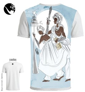 Camiseta Full Oxala e Oxaguian