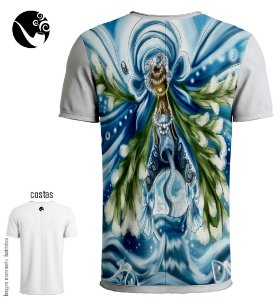 Camiseta Iemanjá - Nas Ondas do Mar