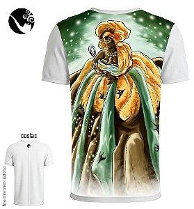 Camiseta Oxum - Encantos da Cachoeira