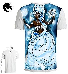 Camiseta Iemanjá - Espelho D'água