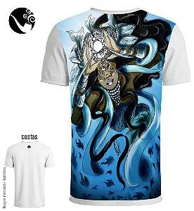 Camiseta Iemanjá - Fundo do Mar