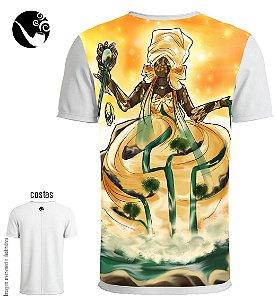 Camiseta Oxum - Águas de Mamãe