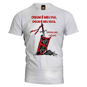Camiseta Ogum - É meu pai, É meu guia