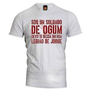 Camiseta Ogum - Soldado de Ogum