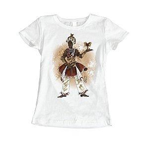 Camiseta Baby Look Xango - Kaô Cabecilê