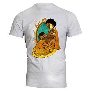 Camiseta Oxum - Rainha do Ouro