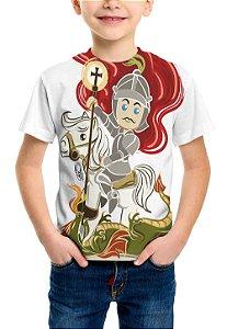 Camiseta São Jorge - Kids